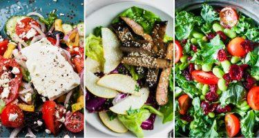 10 легких салатов для здорового меню