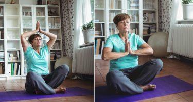 10 поз в йоге от болей в спине