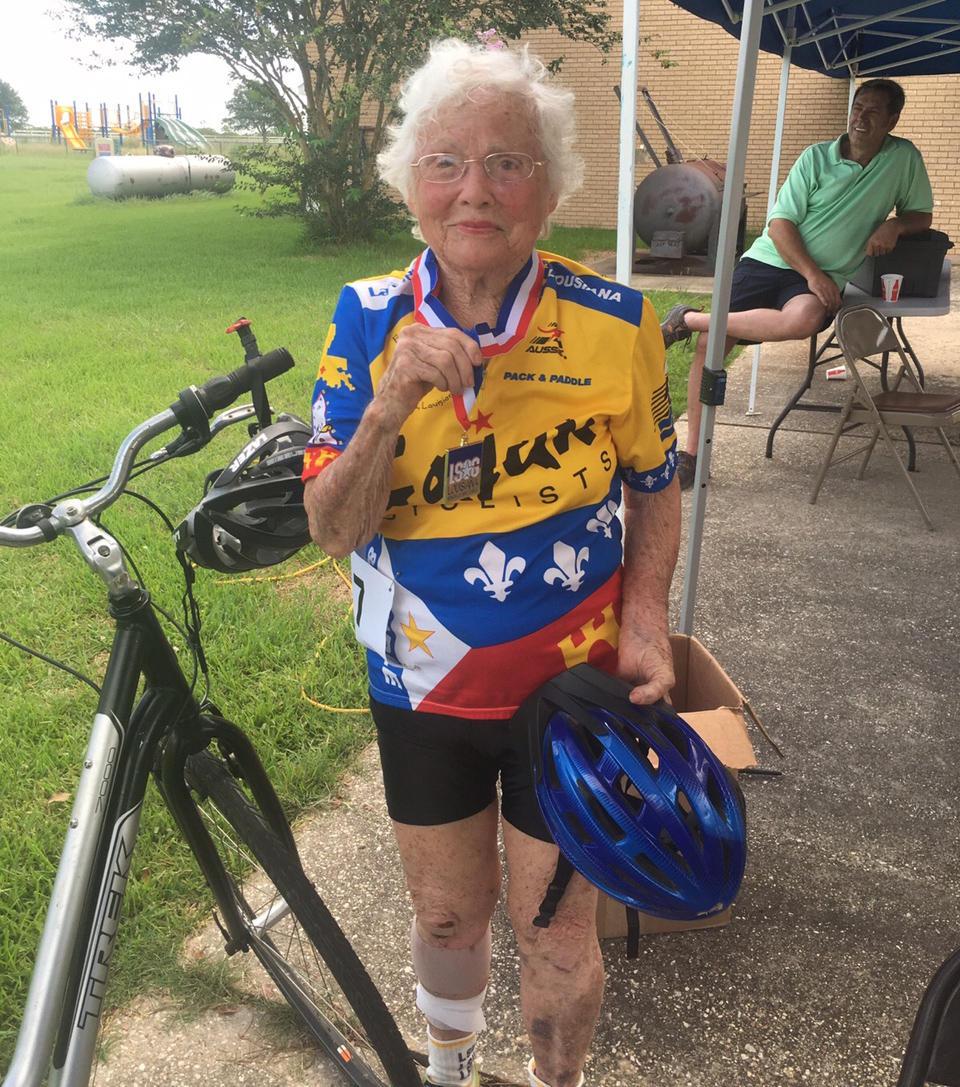 101-летняя бегунья
