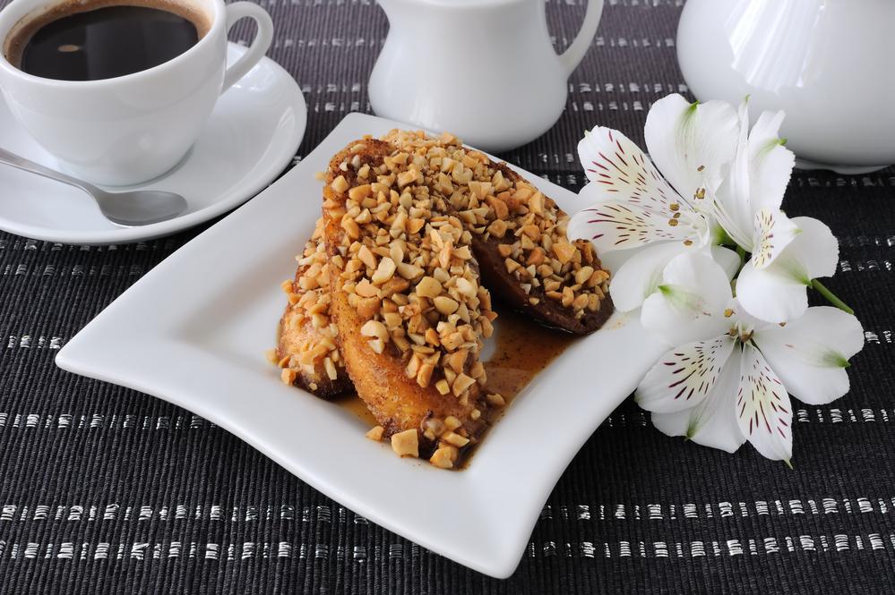 тост с грецкими орехами фото