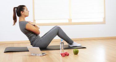 5 легких упражнений для рельефного пресса