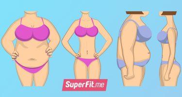 5-минутная тренировка для плоского живота