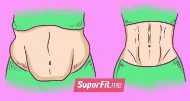 5 упражнений для плоского живота