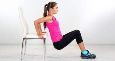 5 упражнений на стуле