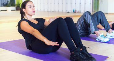 6 упражнений для красивого пресса