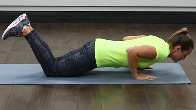 Как подтянуть кожу на животе упражнения
