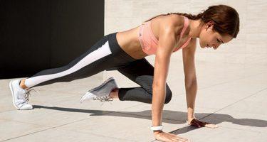 6 упражнений для плоского живота