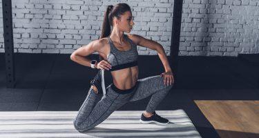 6 упражнений для стройных ног и ягодиц