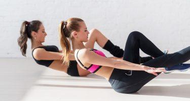 6 упражнений из пилатеса для плоского живота
