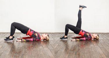 8 упражнений для похудения
