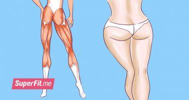 8 упражнений для стройных ног