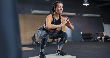 Быстрая тренировка для ног