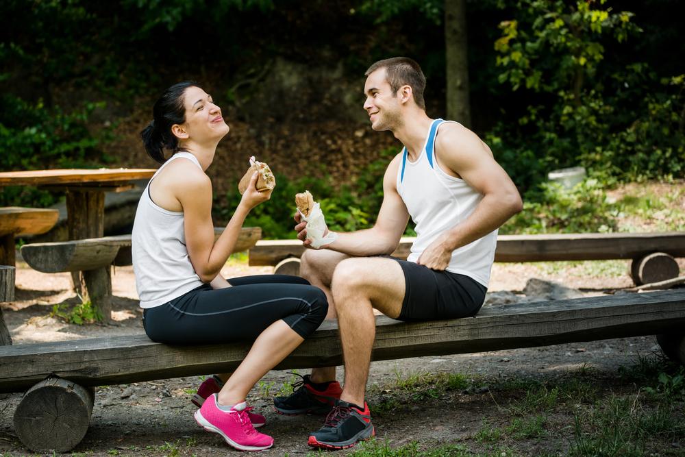едят после тренировки
