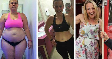 Девушка похудела на 32 килограмма