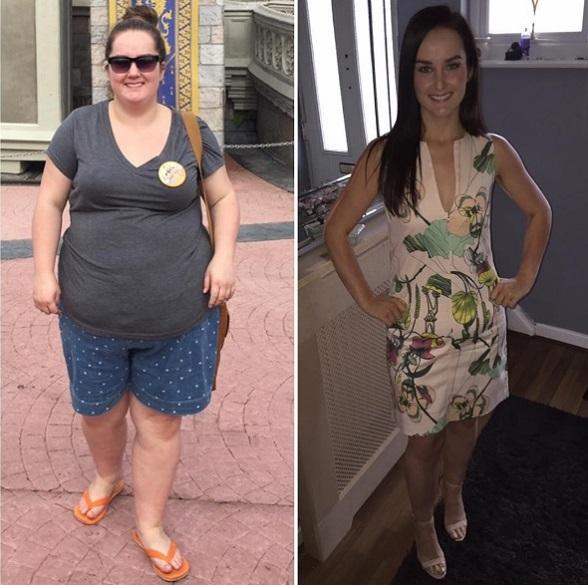 сбросила вес