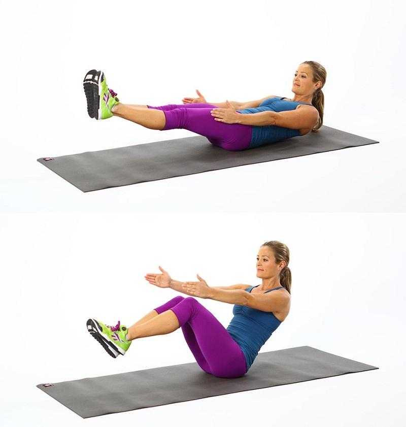 Пресс Упражнения Для Похудения Дома. Топ-50 упражнений для мышц живота: похудейте и подтяните пресс
