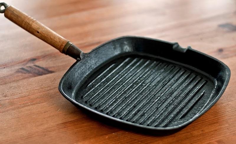 сковорода-гриль фото