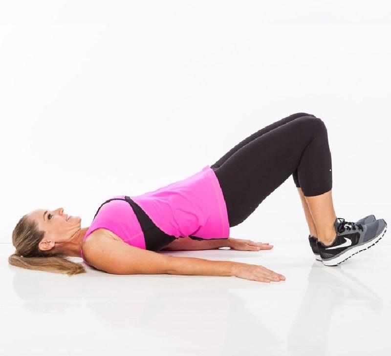 как накачать попу при боли в коленях