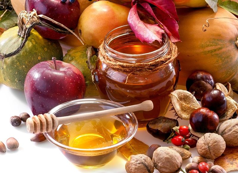мёд и фрукты фото