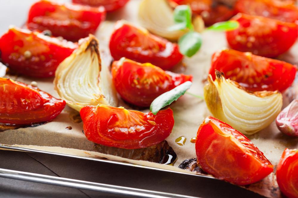 помидоры в духовке фото