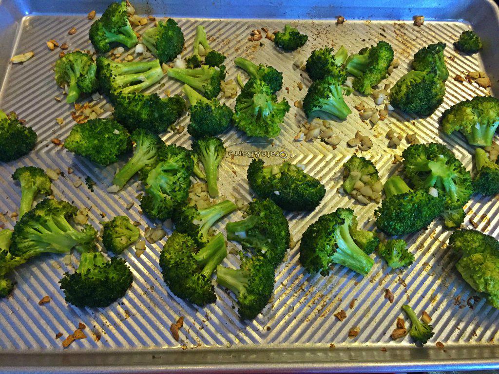 брокколи в духовке