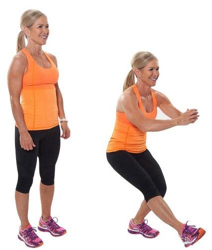 упражнения от целлюлита