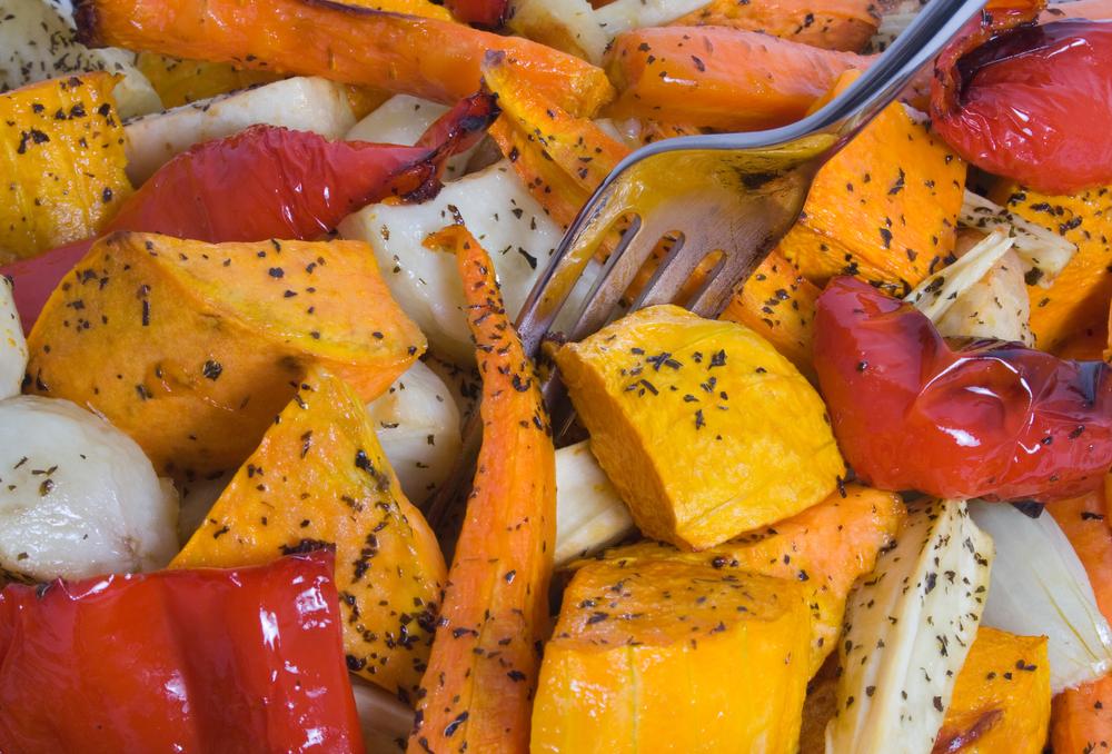 овощи в духовке фото