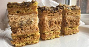Киевский торт без муки