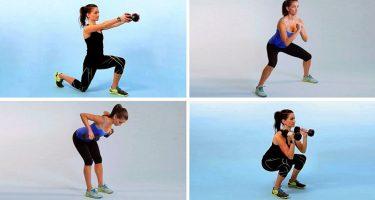 Круговая тренировка для снижения веса