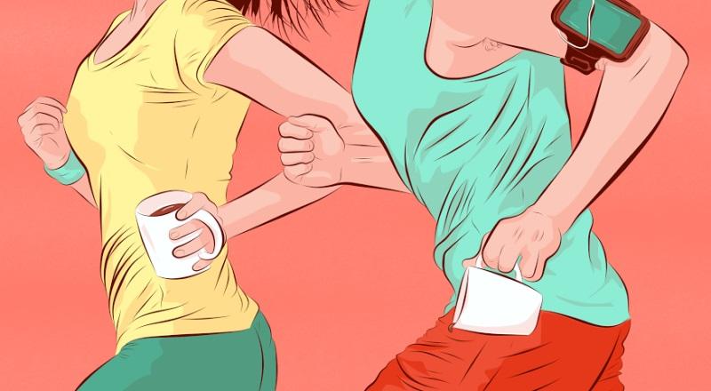 кофе перед тренировкой
