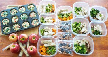 План сбалансированного питания на неделю