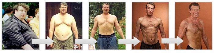 мужчина сбросил 100 кг