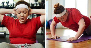 Упражнения, которые не помогают похудеть