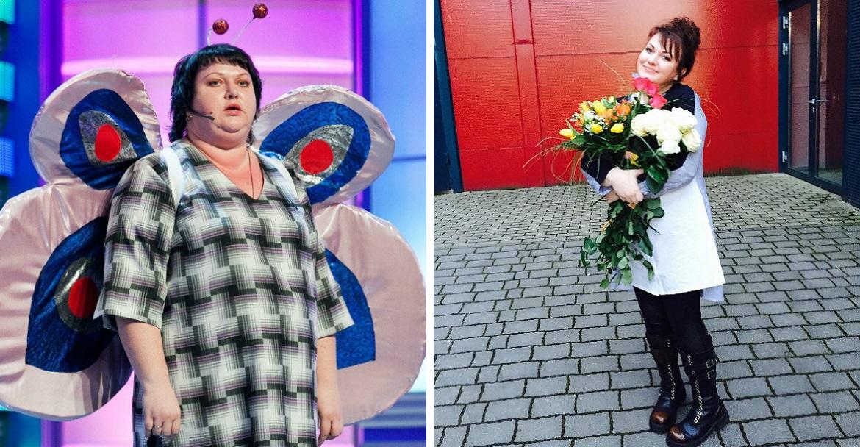 картункова до и после похудения